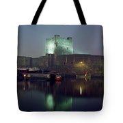Carrickfergus Castle & Harbour, Co Tote Bag