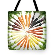 Carrot Pigmentation Variation Tote Bag by Science Source