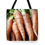 Carrots Tote Bag by Elena Elisseeva