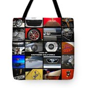 Cars Of Southern California Tote Bag