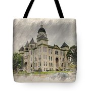 Carthage Courthouse Tote Bag