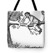 Cartoon: Secession, 1861 Tote Bag