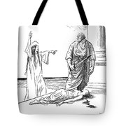 Cartoon: Versailles Treaty Tote Bag