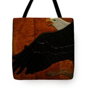 Carved Eagle Tote Bag