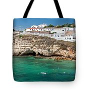 Carvoeiro Panorama Tote Bag