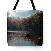 Cary Lake In The Adirondacks Tote Bag
