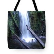 Rainforest Waterfall Cascades Tote Bag