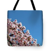 Cascade In Pink Tote Bag