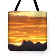 Cascade Mountains Sunrise 1 Tote Bag