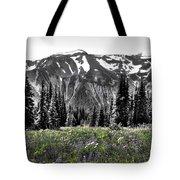 Cascade Range Meadow Tote Bag