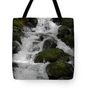 Cascades Below Tote Bag
