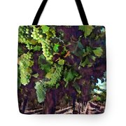 Cascading Grapes Tote Bag