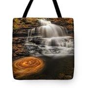 Cascading Swirls Tote Bag