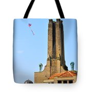 Casino Building And Kite Tote Bag