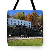 Cass Railway Wv Painted Tote Bag