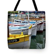 Cassis Boats Tote Bag by Brian Jannsen