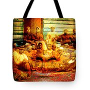 Cast Into The Wind Tote Bag