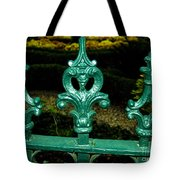 Cast Iron Fence Top 2  Tote Bag