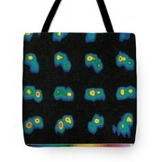 Castalia Asteroid Sequence, False-color Tote Bag by Science Source