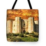 Castel Del Monte Tote Bag
