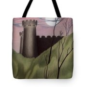 Castle By Moonlight Tote Bag