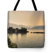 Castle Cannero On Lake Tote Bag