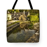 Castle Combe Bridgeside Tote Bag