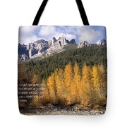 Castle Crags Autumn Tote Bag