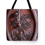 Castle Doorknocker Tote Bag