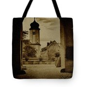 Castle Gate Tote Bag