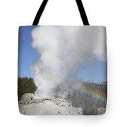 Castle Geyser Eruption, Upper Geyser Tote Bag