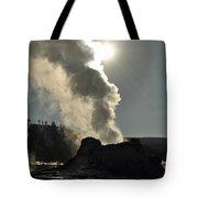 Castle Geyser Morning II Tote Bag