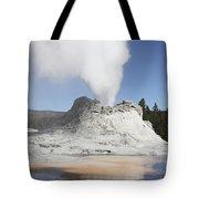 Castle Geyser Steam Phase, Upper Geyser Tote Bag