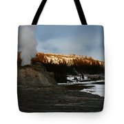 Castle Geyser Yellowstone National Park Tote Bag