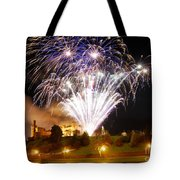 Castle Illuminations Tote Bag by John Kelly