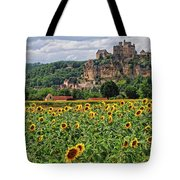 Castle In Dordogne Region France Tote Bag