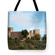 Castle In Sunlight Tote Bag