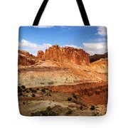 Castle In The Distance Tote Bag
