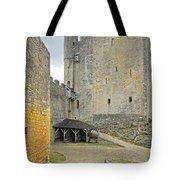 Castle Interior Ground France Tote Bag