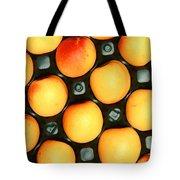 Castlebrite Apricot Tote Bag by Photo Researchers