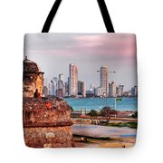 Castles Made Of Sand Tote Bag by Skip Hunt