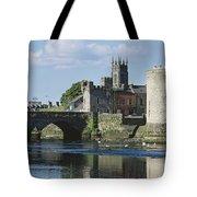Castles, St Johns Castle, Co Limerick Tote Bag