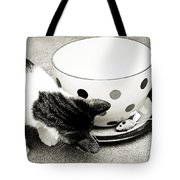 Cat And Mouse Coffee Tote Bag