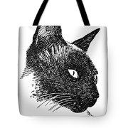 Cat Drawings 5 Tote Bag