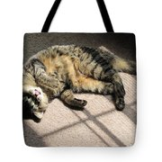 Cat Got Your Tongue Tote Bag