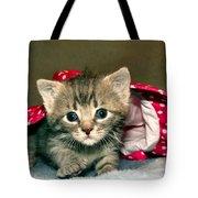 Cat In The Hat Tote Bag