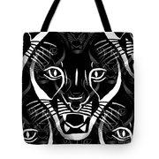 Cat Mask Tote Bag