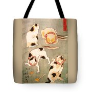 Cat Poses Tote Bag