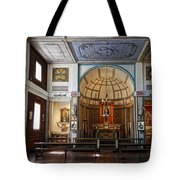 Cataldo Mission Altar And Interior Tote Bag