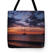 Catamarans  At Sunset Tote Bag